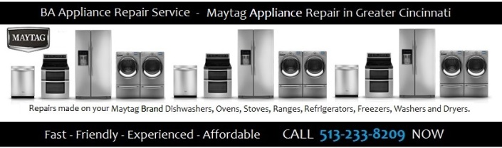 Maytag appliance repair in Cincinnati