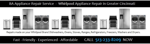 Fast Friendly Experienced Affordable Whirlpool Appliance Repair