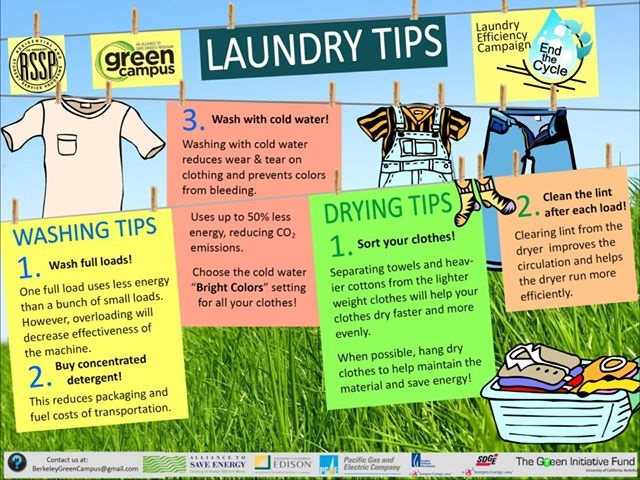 More Helpful Laundry Tips!