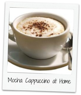 Make Mocha Cappuccino at Home
