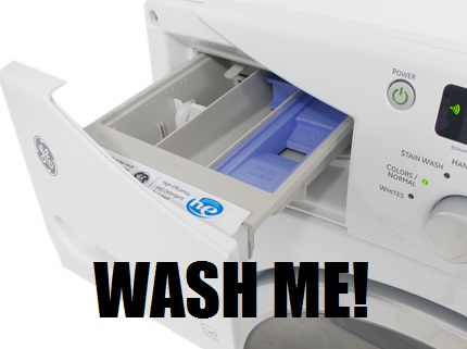 Keep your Washer Dispenser Clean