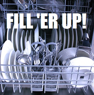Save Money By Running Your Dishwasher When Full