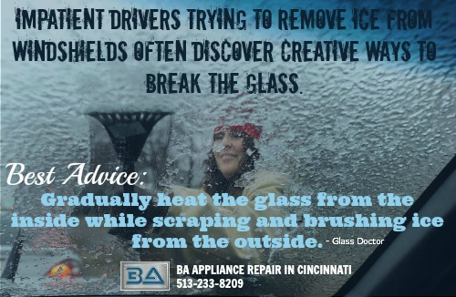 How to De-Ice Your Windshield in Cincinnati