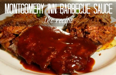 Montgomery Inn Cincinnati BBQ Sauce ~ the recipe
